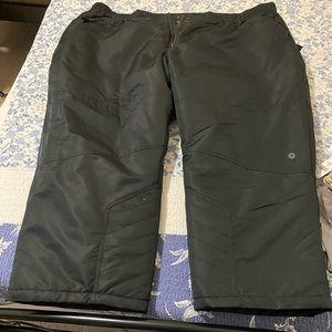 Women's plus size snow pants, size 5XP
